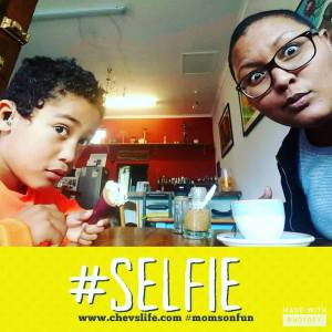 Kai & Mom Selfie